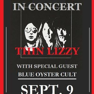 THIN LIZZY - STANLEY THEATRE 11 BY 17 IN POSTER